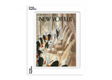 Affiche The New Yorker – Sempé – Coulisses 30x40 - Image Republic