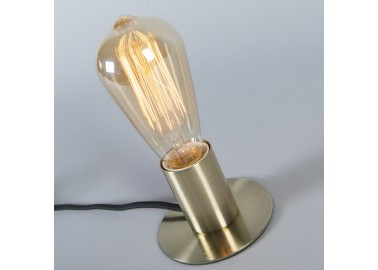 Lampe art déco en laiton - Lumière - Qazqa