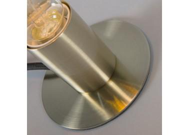 Lampe art déco en laiton - Socle - Qazqa