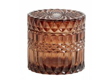 Boîte Welly en verre ambré - Nordal