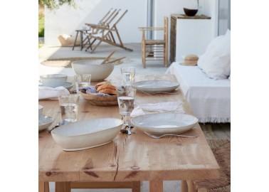 Saladier blanc Eivissa - Table à manger - Casafina