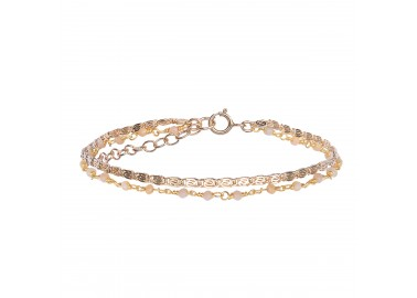 Bracelet Fanette rose - By164