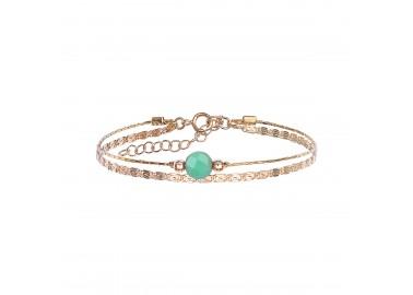 Bracelet Jacynthe vert - By164