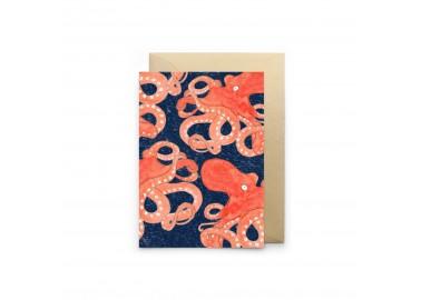Carte Poulpe Bleu - Petit Gramme