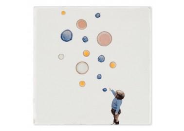 Carreau de céramique – Catching bubbles - Storytiles