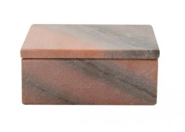 Boîte en marbre vieux rose - Au Maison
