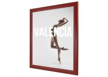 Cadre 8x10'' Rouge foncé - Affiche - Bildershop