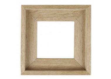 Cadre en bois clair pour carreau de céramique 10x10 - Storytiles