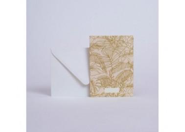 Carte Abondance Olive - Enveloppe - Season Paper