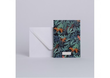 Carte Animalia - Enveloppe - Season Paper