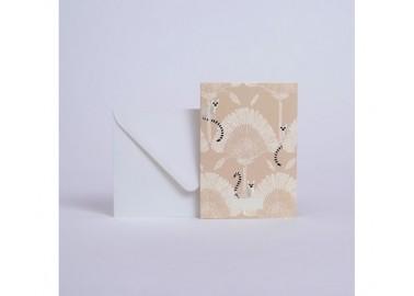 Carte Lémuriens - Enveloppe - Season Paper