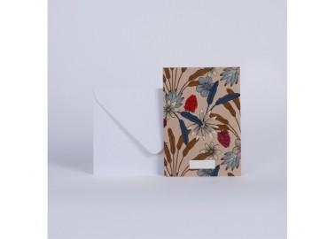 Carte Luxuriance Terre - Enveloppe - Season Paper