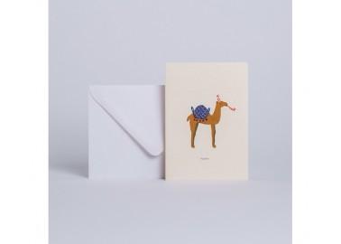 Carte Dromadaire Youpi - Enveloppe - Season Paper