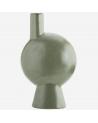 Vase géométrique vert - Madam Stoltz
