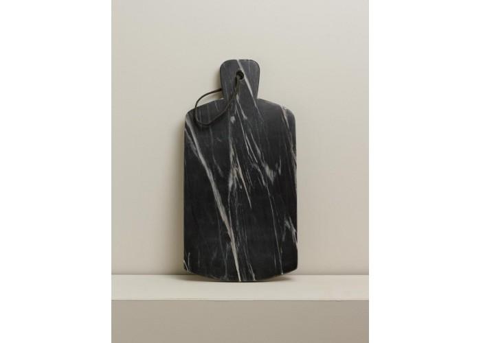 Planche à découper en marbre noir