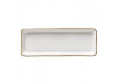 Plat long rectangulaire blanc - Casafina