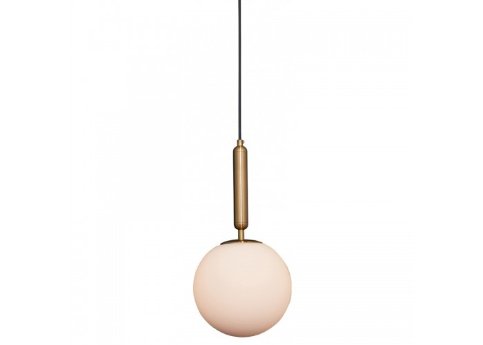 Suspension Moon en opaline