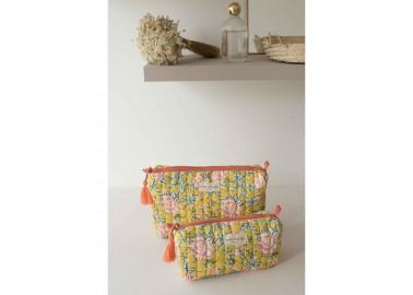 Trousse medium Bouquet du matin Mimosa - Salle de bain - Bindi Atelier