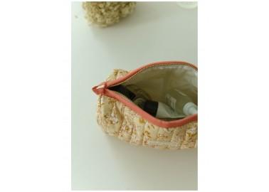 Trousse medium Sarika Poudre - Intérieur plastifié - Bindi Atelier