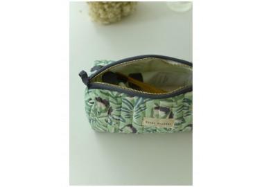 Trousse medium Padana Lila - Intérieur plastifié - Bindi Atelier