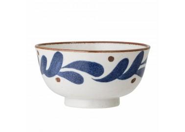 Bol en porcelaine avec motifs pétales - Bloomingville