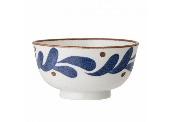 Bol en porcelaine avec motifs pétales