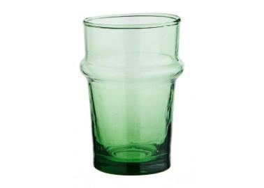 Verre Beldi fin vert - Madam Stoltz