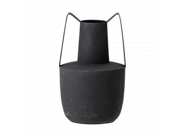 Vase Itamar en métal noir - Bloomingville