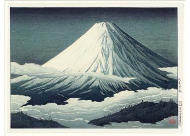 Affiche Mont Fuji 30x40 - The Dybdahl Co