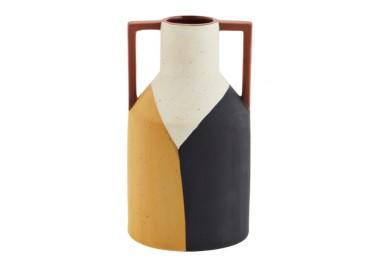 Vase en terre cuite avec anses - Madam Stoltz