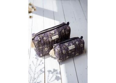 Trousse large Hamelia Iris - Deux tailles - Bindi Atelier