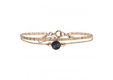 Bracelet Jacynthe bleu - By164