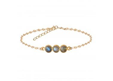 Bracelet Kali labradorite - By164