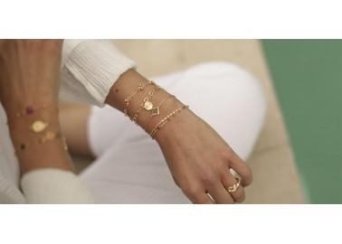 Bracelet Fanette multicolore- Bijou porté - By164