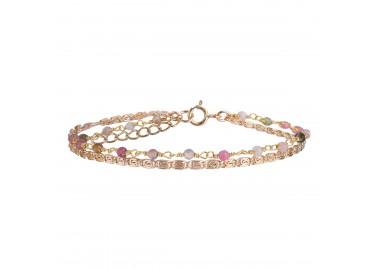 Bracelet Fanette multicolore- By164