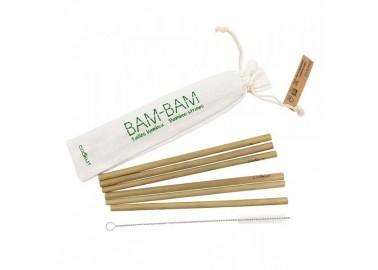 Pailles en bambou (lot de 6) - Cookut