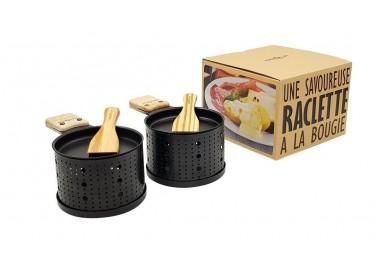 Raclette à la bougie pour 2 personnes - Packshot - Cookut