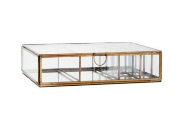 Grande boîte à bijoux avec compartiments à miroirs - Madam Stoltz