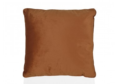 Coussin en velours orange 45x45 - Andrea House