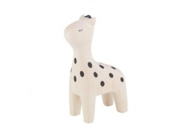 Girafe en bois - T-lab