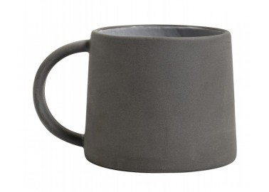 Mug gris en céramique - Nordal