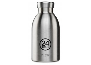 Gourde Thermos Clima 33cl Steel - 24Bottles
