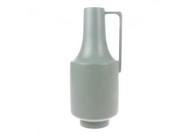 Vase vert céladon en céramique avec anse - HKLiving