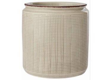 Pot en céramique ivoire - Au Maison