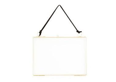 Cadre horizontal doré à suspendre - Madam Stoltz