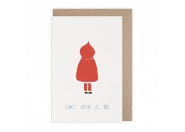 Carte Chaperon rouge - Monsieur Papier