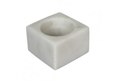 Coquetier en marbre blanc - Be Home