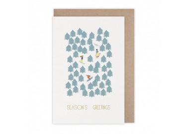 Carte Season's Greetings - Monsieur Papier
