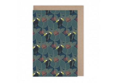 Carte Toucans - Monsieur Papier
