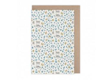 Carte Bananeraie - Monsieur Papier